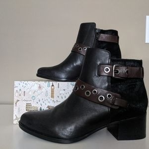 Naturalizer Leather Booties NWOT